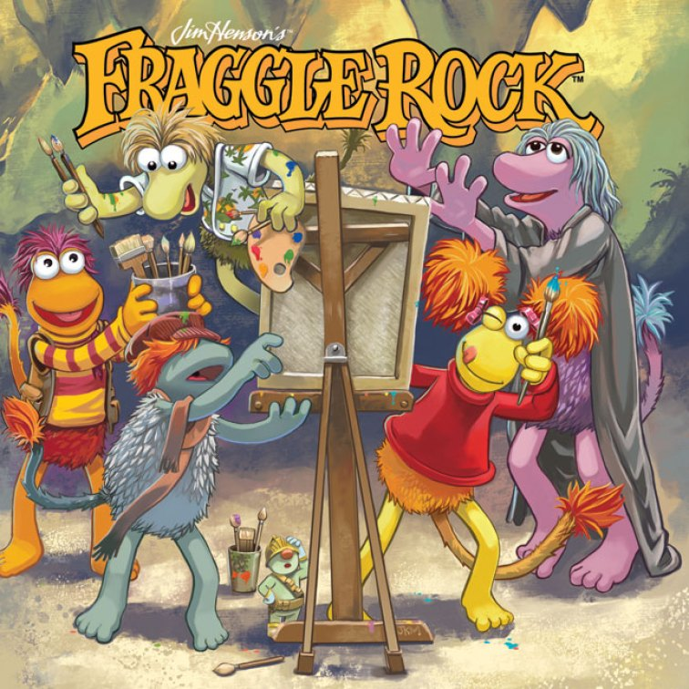Fraggle-Rock-Vol-001-HC-Cover
