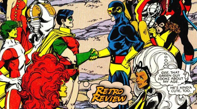 RETRO REVIEW: Marvel and DC Present - Featuring The Uncanny X-Men ...