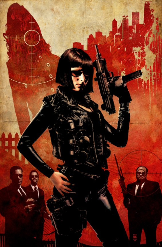 Jennifer Blood #1 - Tim Bradstreet cover