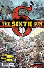SIXTH GUN #6 COVER