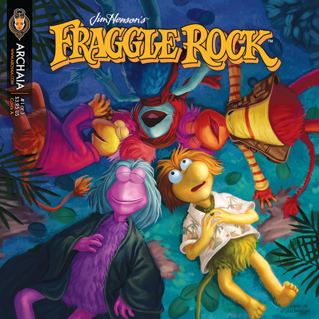 Fraggle-Rock-001-Cover-A