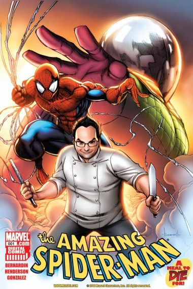 SPIDERMAN_A_MEAL_TO_DIE_FOR_Cover