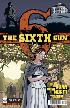 SIXTH GUN #15 COVER