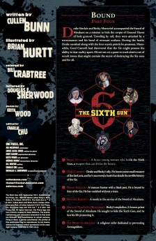 SIXTH GUN #15 PREVIEW PG 1