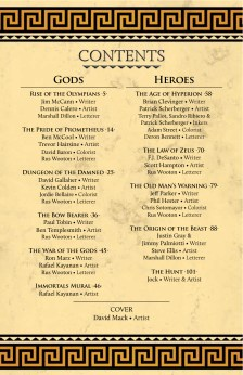 Immortals G&H_Table of Contents