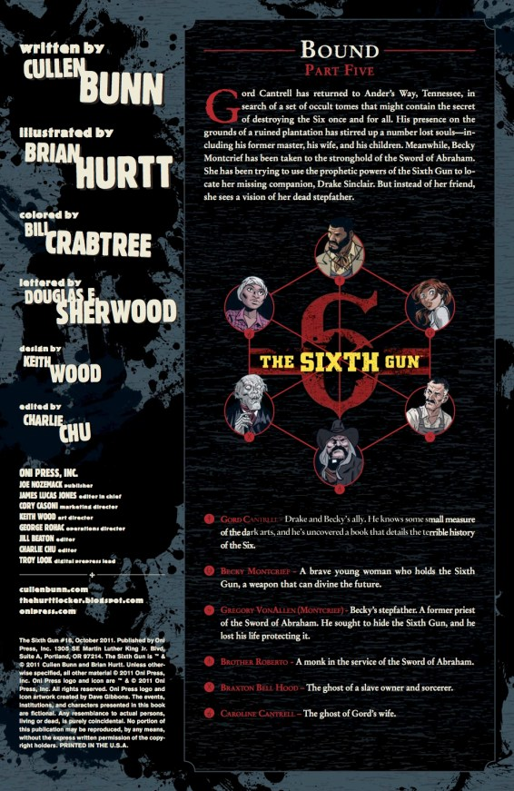 SIXTH GUN #16 PREVIEW PG 1