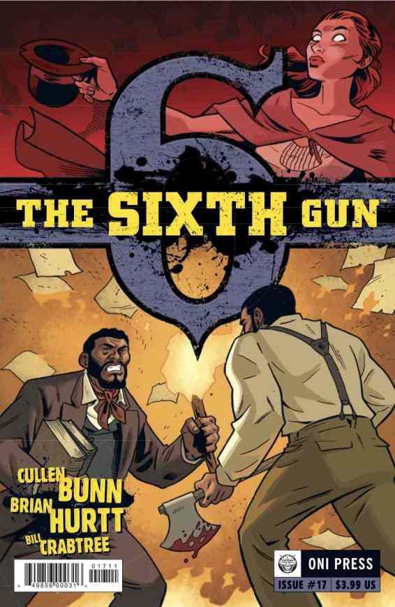 SIXTH GUN 17 COVER