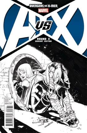 AvengersVSXMen_3_CoverVariant_PichelliSketch