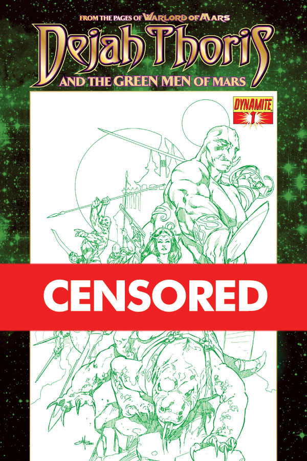 Dejah Thoris & Green Men Rubi - Censored