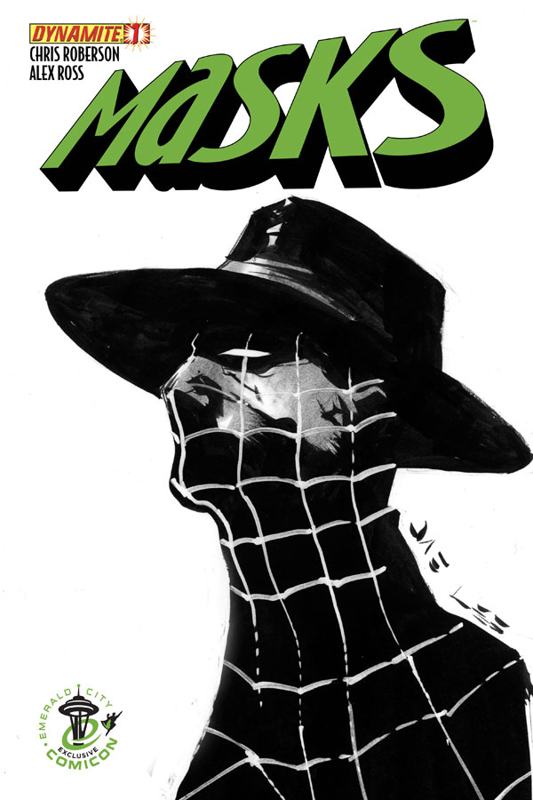 Masks #1 ECCC Jae Lee Spider