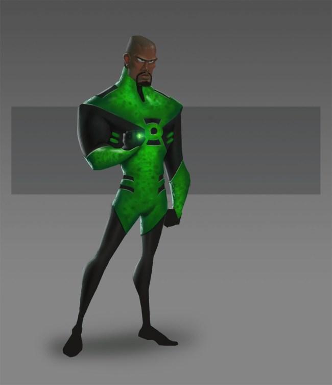Pixar Green Lantern
