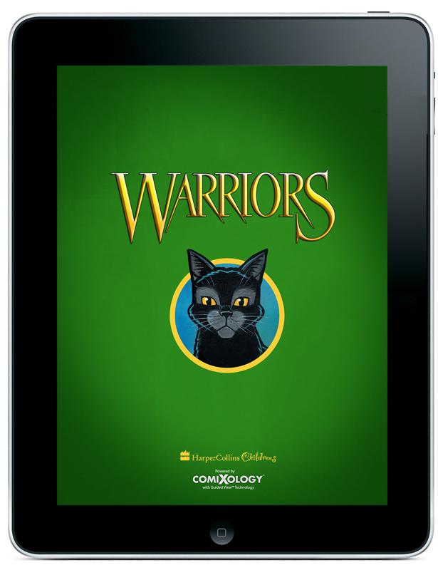 Warriors_HarperCollins_comiXology_iPad