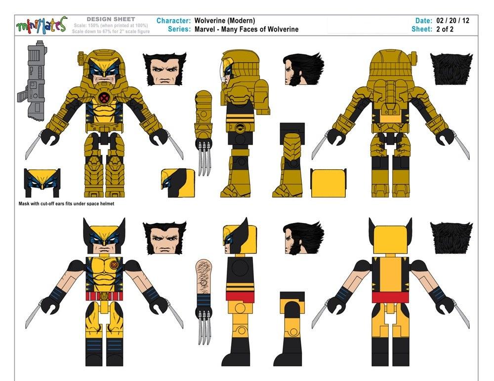 Wolverine Saga - Spacesuit Art