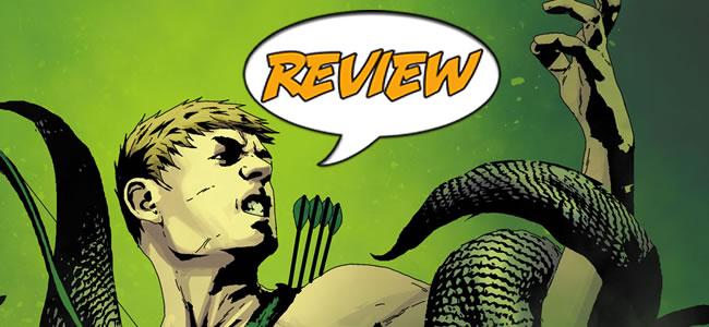 DC Comics, Green Arrow, Sinestro, Jeff Lemire, Animal Man, Andrea Sorrentino , Geoff Johns, New 52