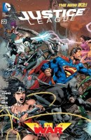 Justice League 22 cover