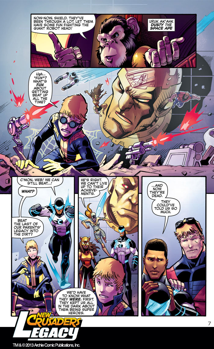Archie comics archie comics sneak peek of the week major spoilers - Newcrusaders_legacy 0 Newcrusaders_legacy 6 Newcrusaders_legacy 7
