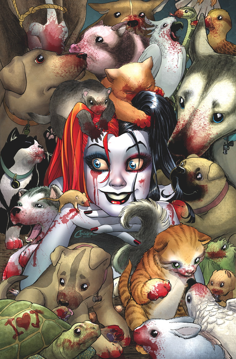 The coloring book quinn review - Harley Quinn_2_cover