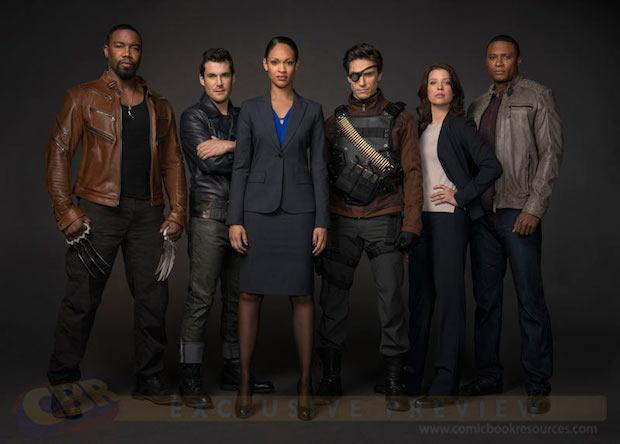 (From left-to-right) Ben Turner aka the Bronze Tiger (Michael Jai White), Mark Scheffer aka Shrapnel (Sean Maher), Amanda Waller (Cynthia Addai-Robinson), Floyd Lawton aka Deadshot (Michael Rowe), Lyla Michaels (Audrey Marie Anderson), and the reliable Diggle (David Ramsey)