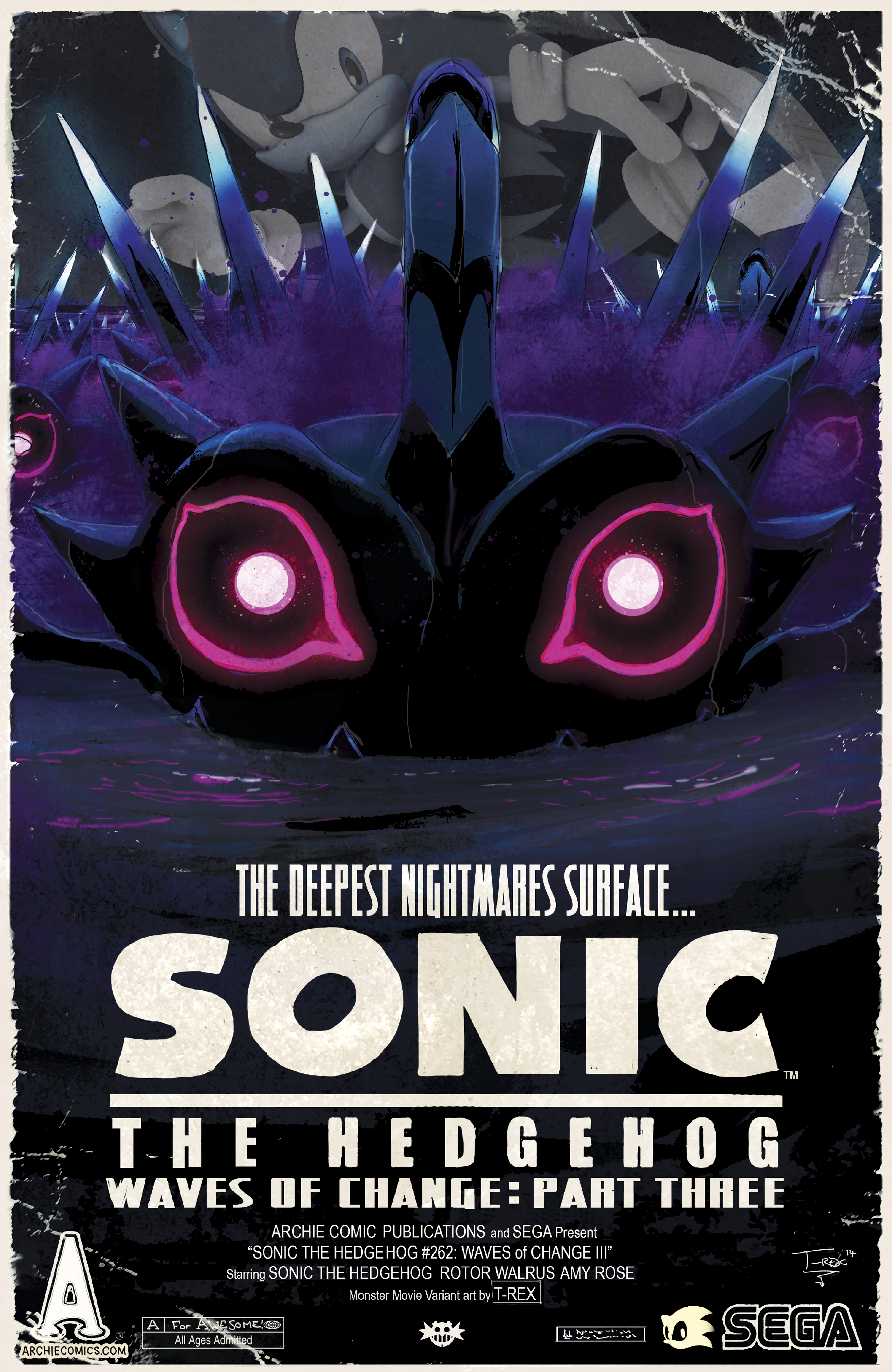 Archie comics archie comics sneak peek of the week major spoilers - Sonicthehedgehog_262 Sonicthehedgehog_262variant