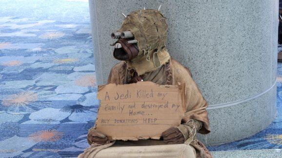 Tusken Raider Beggar