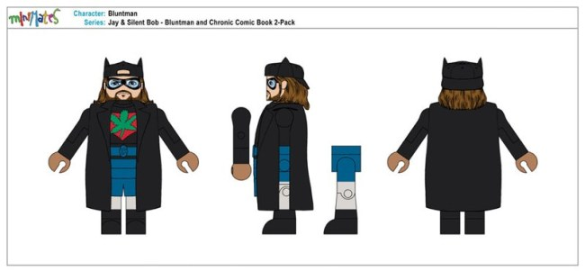 Jay & Silent Bob - Bluntman & Chronic Comic Book 2-Pack - Bluntman1
