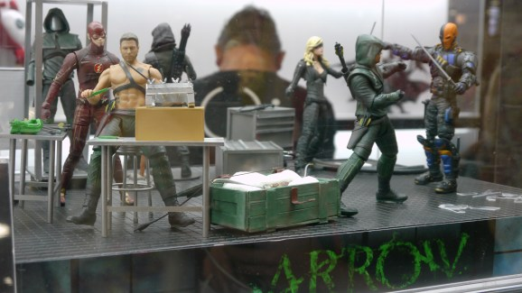 Arrow Action Figures - Major Spoilers