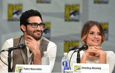 Tyler-Hoechlin-and-Shelley-Hennig-San-Diego-Comic-Con-2014
