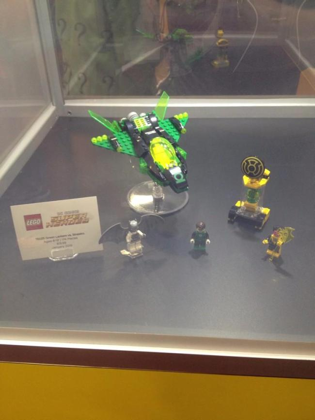 leog green lantern set