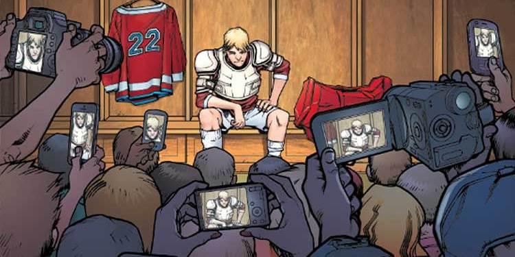 Wayne Hall, Wayne's Comics, Stereotypical Freaks, Hockey Saint, Jeremiah Jacobson, Tom Leonard, Howard Shapiro, Animal Media Group, graphic novel