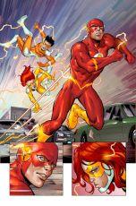 Hawkman, Batman, Batgirl, Stephanie Brown, Black Bat, Convergence, Marvel, Secret Wars, Wally West, Speed Force