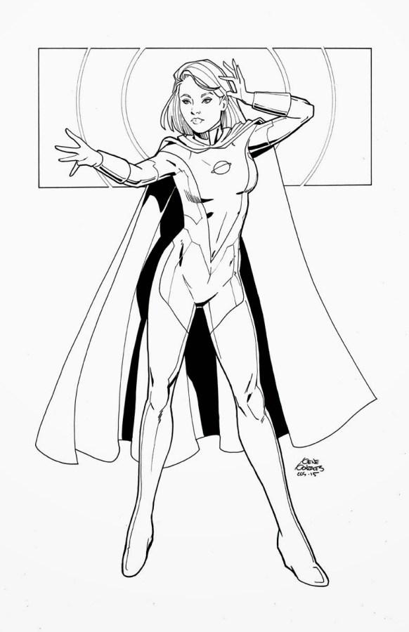 gene gonzales Saturn Woman