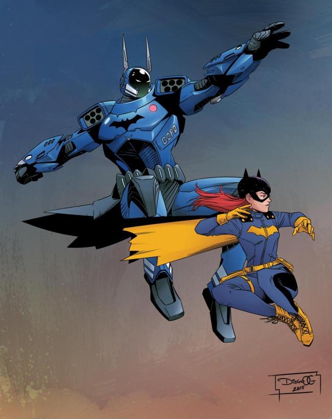diego Olortegui Batman and Batgirl