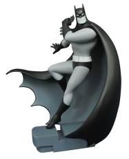 FEB168429-STL009976--DC-GALLERY-BATMAN-TAS-B&W-BATMAN-FIG
