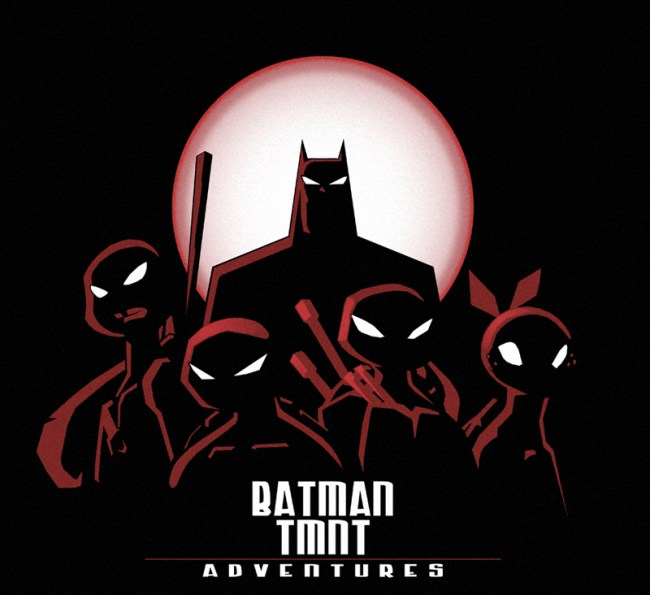 animated adventures of Batman and the TMNT