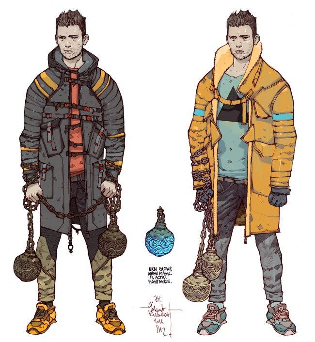 namesake character design