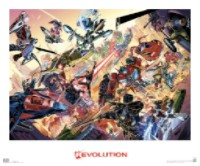 revolution lithograph