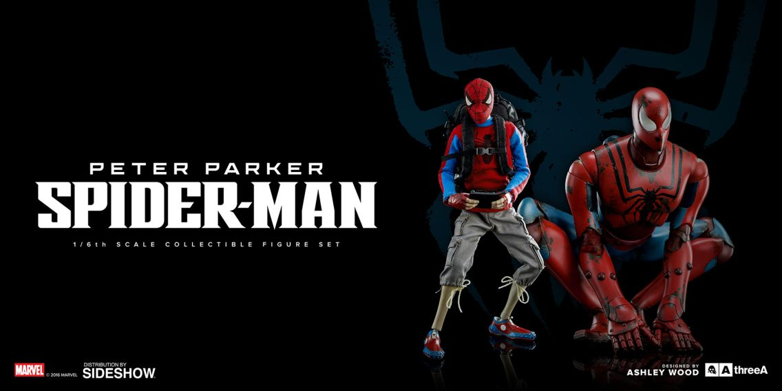 marvel-peter-parker-spider-man-sixth-scale-set-threea-902820-01