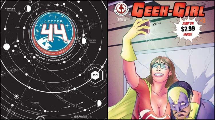 Wayne Hall, Wayne's Comics, Letter 44, Oni Press, Charles Soule, Alberto Alburqueque, Geek-Girl, Sam Johnson, president,
