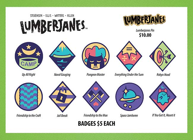 Lumberjanes-Badges-&-Pin