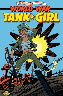 TANK GIRL WORLD WAR TANK GIRL #1 - CVR C KANE