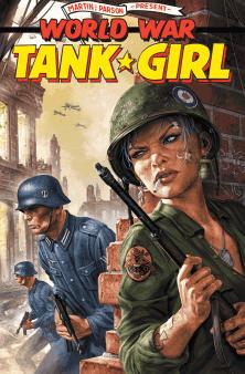 TANK GIRL WORLD WAR TANK GIRL #1 - CVR E WAHL