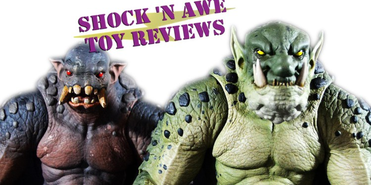 Shock 'n Awe review the Four Horsemen Mythic Legions Mountain and Forest Trolls.