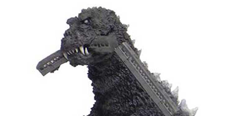 Godzilla toy