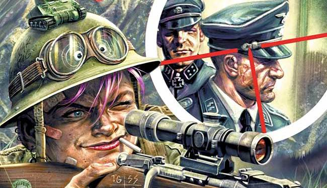 World War Tank Girl #2