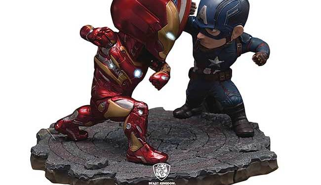 Beast Kingdom Civil War Toys Statues