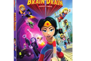 LEGO DC Super Hero Girls Brain Drain Movie