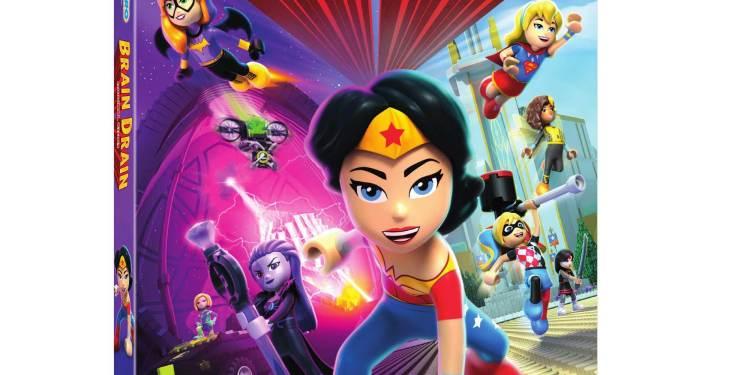 LEGO DC Super Hero Girls Brain Drain Movie