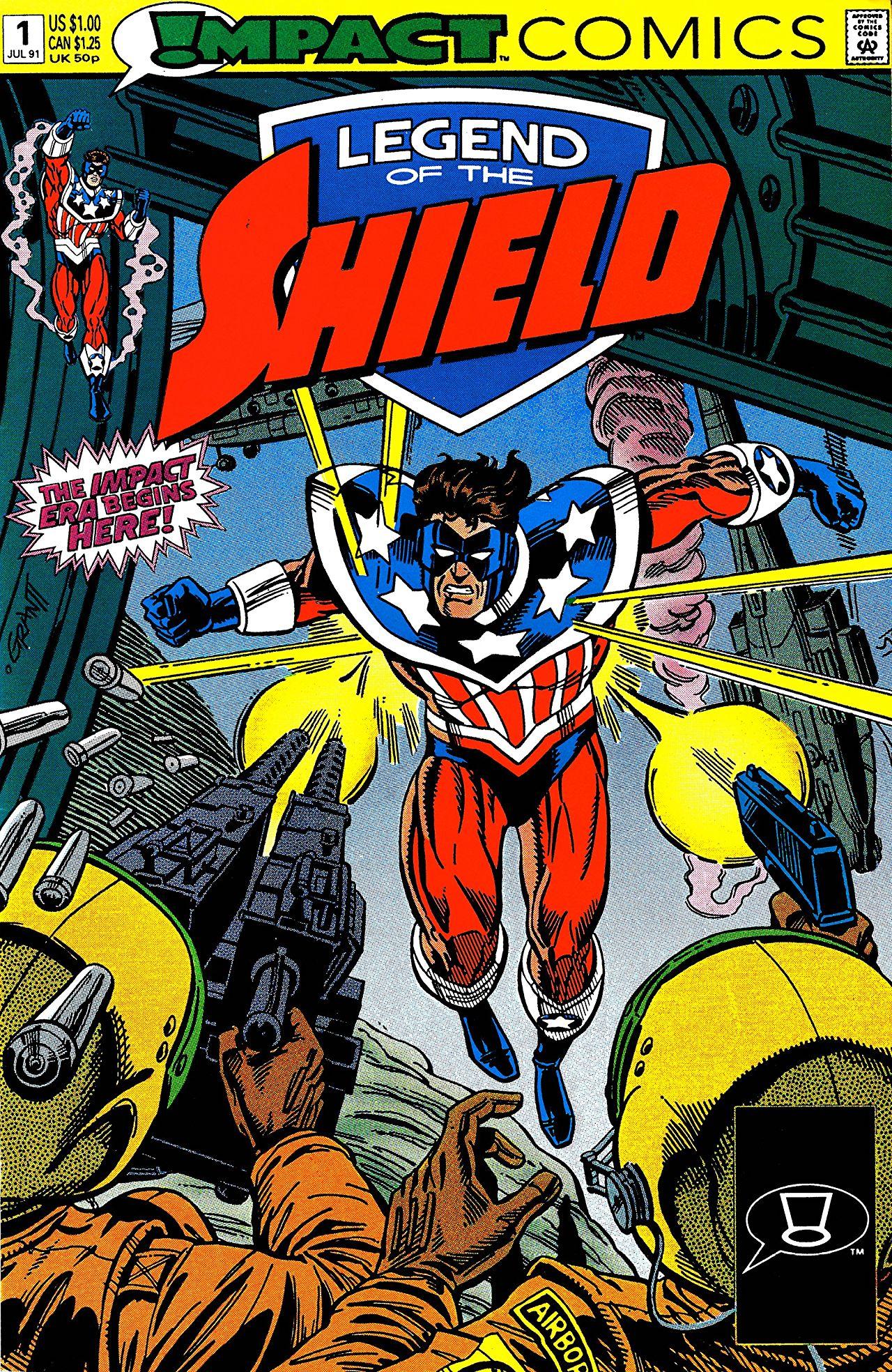 Archie comics archie comics sneak peek of the week major spoilers - Legend Of The Shield 1