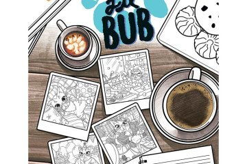 Lil Bub coloring book