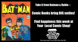 Comics, local comics shop, store, Wednesday, July 4, July 5, habit,